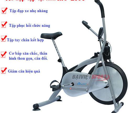 Xe đạp tập thể dục sử dụng thế nào cho đúng cách
