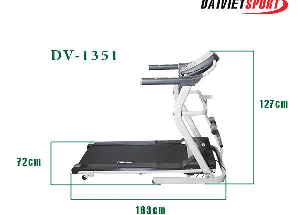 Điểm nổi trội của máy chạy bộ điện DV 1351
